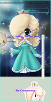 Princess Rosalina and Luma Skin by PrincessaaDaisy12