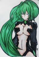 Green Heart by flora89