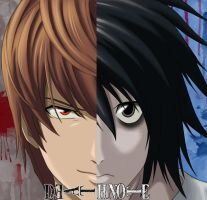 Death Note L e Yagami by LeoXleite