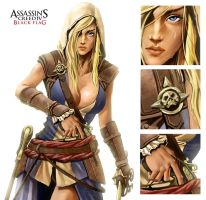 Assassins Creed Blackflag Female Ver. by Supijo