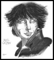 Neil Gaiman by C4L