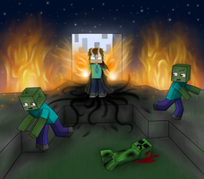 I'm not teaming with mobs. by owlmaddie