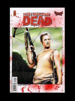 Walking Dead Sketch Cover - Daryl Dixon by AstroVisionary