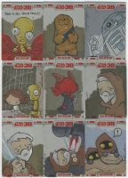 TOPPS Star Wars cards, pt. 4 by katiecandraw