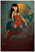 Bettie Page by uglyographer