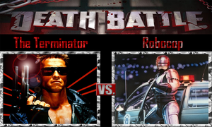 The Terminator vs Robocop by SonicPal