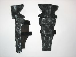 R2-Armor WIP 5-Shin guards by Hyokenseisou-Cosplay