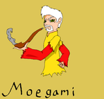 Moegami Rooster/Flame God by ShadowCatGamer