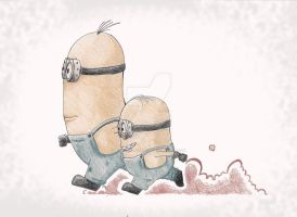 Minions by littlewoodlouse