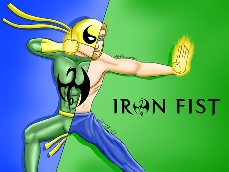 Iron Fist, The Immortal Weapon by FlareVortex