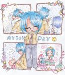 (NaPiDraMo 2014) Wheatley's Busy Day by bunnyb133