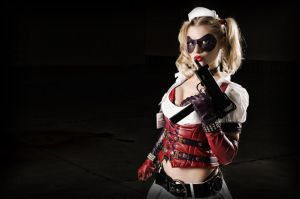 Arkham Asylum Harley Quinn- Howdya like my Mac? by jobiberry