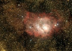 Lagoon Nebula by frenchbear
