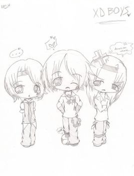 XD Boys uncolored by srcpcsoha