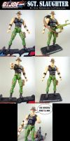 Custom GI Joe Sgt. Slaughter by KyleRobinsonCustoms