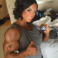 Jodi Boam Morphed Muscles by Turbo99
