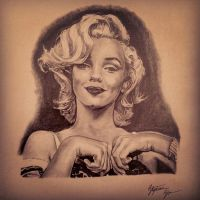 Marilyn Monroe At Her Best by Only1Stevey