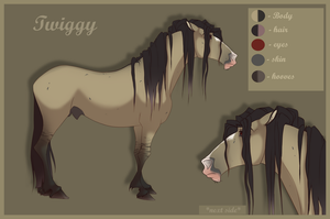 Twiggy |Character sheet| by LadyX-LT