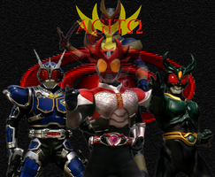Kamen Rider Agito Wallpaper by jilliefoo