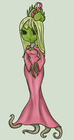 Alana Del Grenths the Flytrap Princess by AskTheQueen