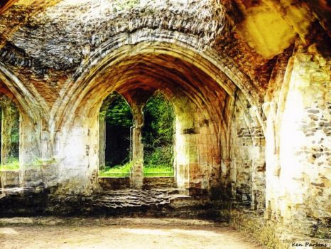 Waverley Abbey, Farnham, Hants (Abstract) by nosuchthingasnothing
