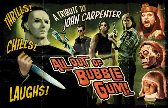 All Out Of Bubble Gum: A Tribute to John Carpenter by michkelleher