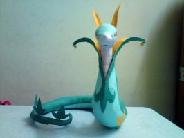 Serperior Papercraft 1 by riolushinx