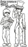 Willy Wonka - Colouring Page 2 by kittykinetic