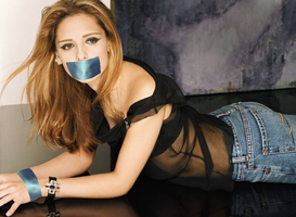 Sarah Michelle Gellar gagged by CuteGirlsGagged