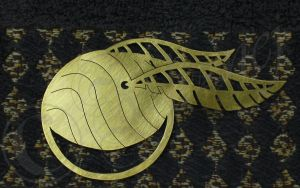 Golden Snitch Bookmark by Ilionej