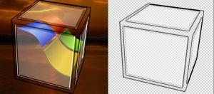 Glass Cube by manoluv