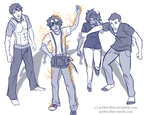 Percy Jackson-- Caught Off Guard by Golden-Flute