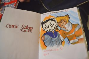 COMIC SALON 2012 by tattiOsala
