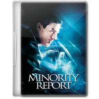 Minority Report (2002) Movie DVD Icon by A-Jaded-Smithy