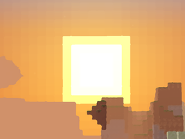 Sun sets on this Alpha World by arceus32