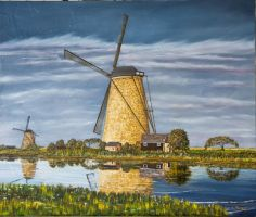 Wind Mill Afternoon by John-Tansey