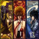 Death note book mark set by oneoftwo