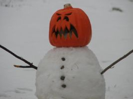 Evil Snowman of Doom by sonicmaster1989