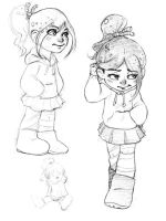 Vanellope by tigrin