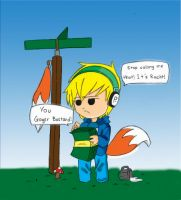 pewdiepie:Conker Bad Fur Day by AnsDraw