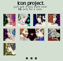 icon project. by fordonia