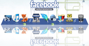 Facebook by MayFlyArt