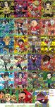 Eyeshield 21 chibis by meomeoow