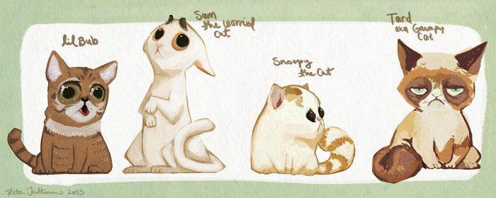 The Cats by CplSquee