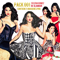Selena Glamour Magazine Pack PNG(leer descripcion) by ByMemiiEditions