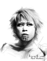 Kyo Portrait by GracefulAssasin