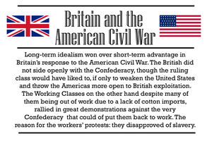 Britain and the American Civil War by Party9999999