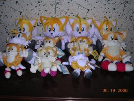 Tails Plushies by SullMaster