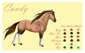 Candy - reference sheet by Wild-Hearts