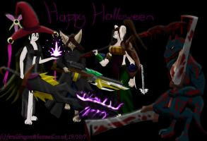 My Darkness Halloween Picture by TatterTailArt
